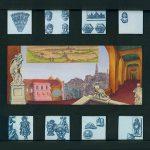 City Life - 2000, oil on panel, 11 x 17 inchesv