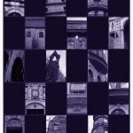 City Stamps - New York, 2008, 8.5 x 11 inches, edition of 100. A new print series that arranges photographs of particular world cities in a postage stamp format.