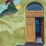 Heaven Sent - 1998, oil on linen, 9 x 6 inches