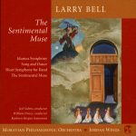 Contemporary classical composer Larry Bell incorporated 4 paintings into designs for 4 of his cd releases. 2004, Reminiscences and Reflections