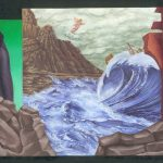 The Tempest - 2002, oil on panel, 6 x 8 inches