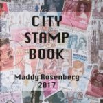 City Stamp Book Cover